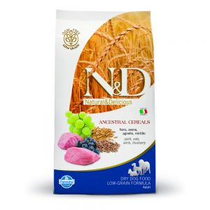 Farmina – N&D Low Grain Agnello e Mirtillo Adult Medium