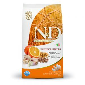 Farmina – N&D Low Grain Merluzzo e Arancia Adult Medium