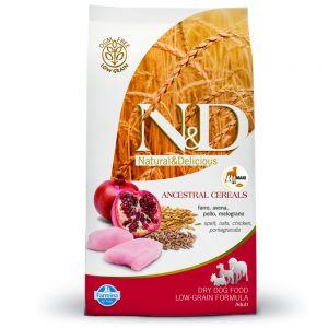 Farmina – N&D Low Grain Pollo e Melograno Adult Maxi