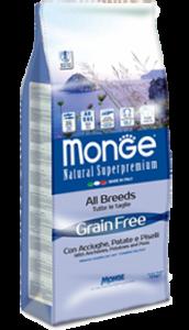 Monge – Superpremium Grain Free Acciughe