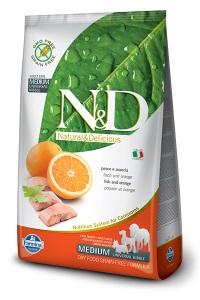 Farmina – N&D Grain Free Fish & Orange Adult Medium