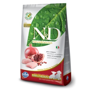Farmina – N&D Grain Free Puppy Pollo e Melograno