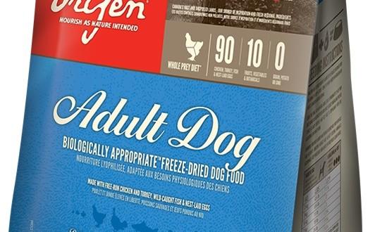 Orijen adult dog liofilizzato crocchette per cani for Crocchette monge opinioni