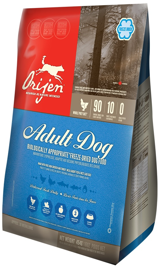 Orijen - Adult dog Liofilizzato
